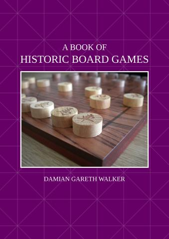 A Book of Historic Board Games: front cover