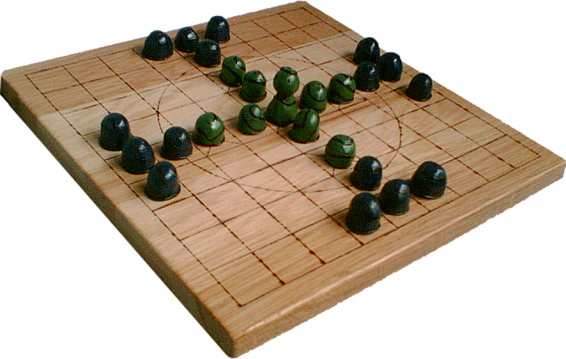 A tablut game made in 2007