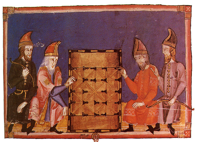 Alquerque in the mediaeval Book of Games