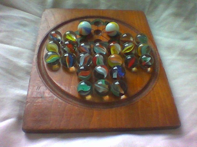 A 19th century asalto board.