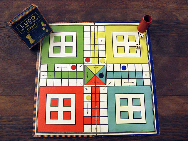 A game of Ludo