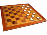 a-traditional-style-draughts-board-set-out-for-play